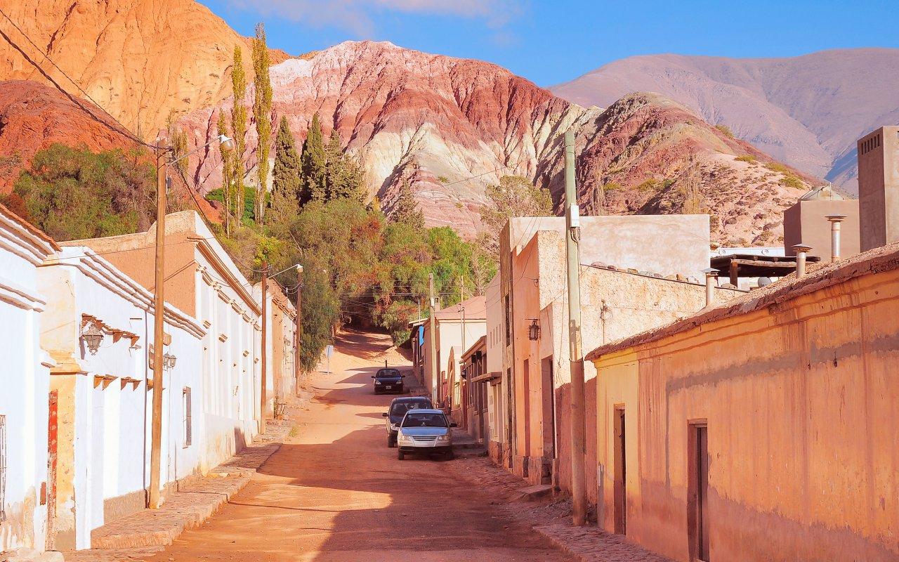 Rues de Purmamarca voyage jujuy argentine