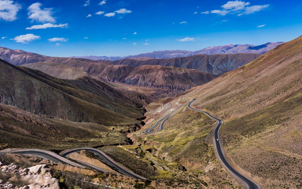 voyage argentine Cuesta de Lipán Purmamarca voyage Jujuy Salta, nord-ouest Argentin