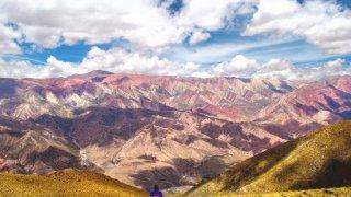 Cerro Hornocal province de jujuy salta voyage argentine