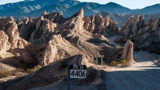 La Route 40 en Argentine