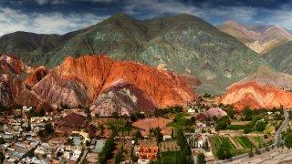 Montagne aux sept couleurs purmamarca voyage salta jujuy