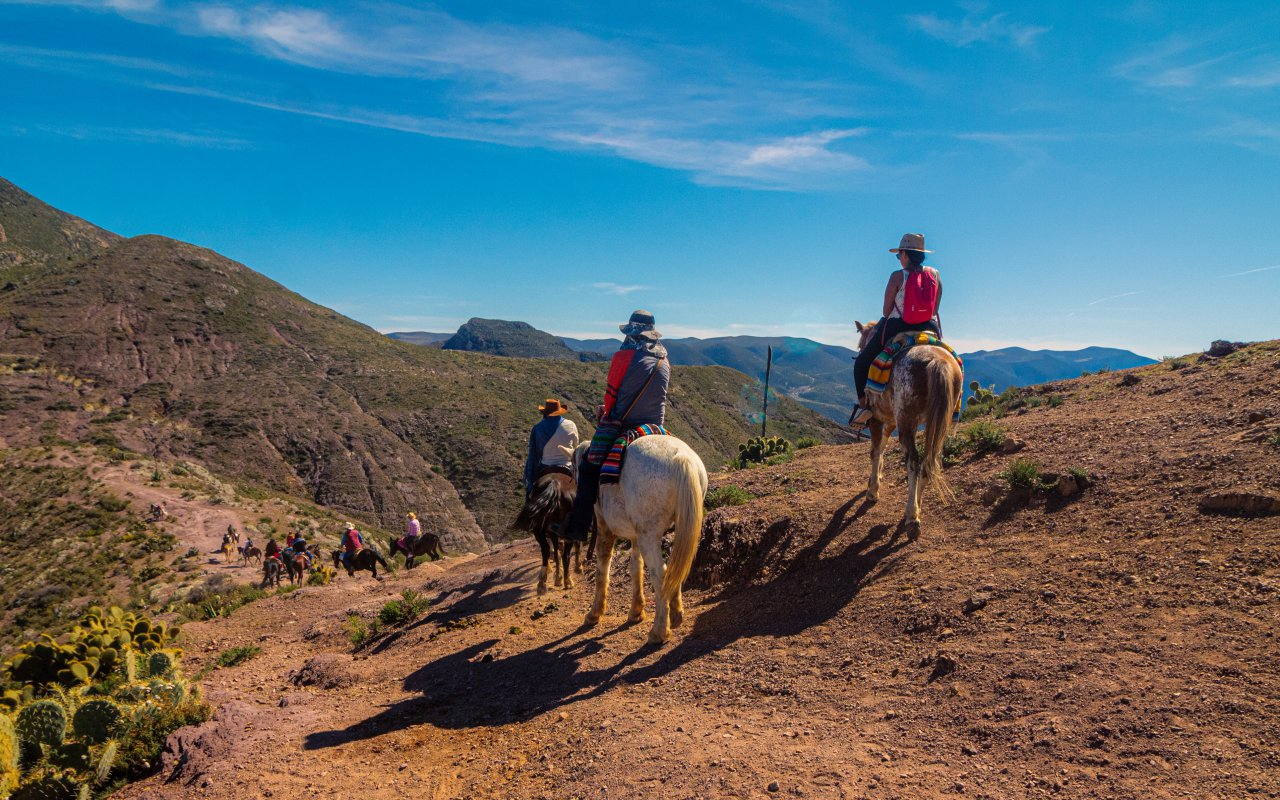 randonnée cheval argentine nord - terra altiplano