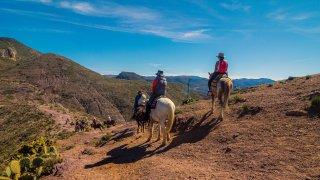 Randonnée à cheval dans les Vallées Calchaquies