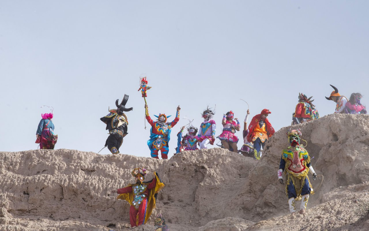 Carnaval dans la Quebrada de humahuaca argentina