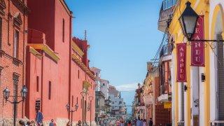 Centre ville Salta, voyage nord-ouest argentin