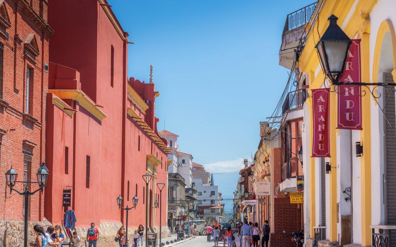 hébergement argentine Centre ville de Salta voyage