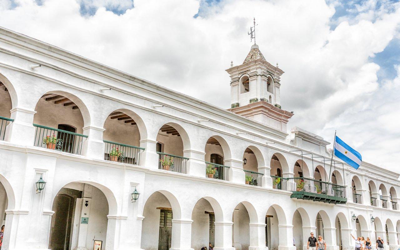 Le Cabildo, Salta. Visite de la ville de Salta voyage nord-ouest argentin