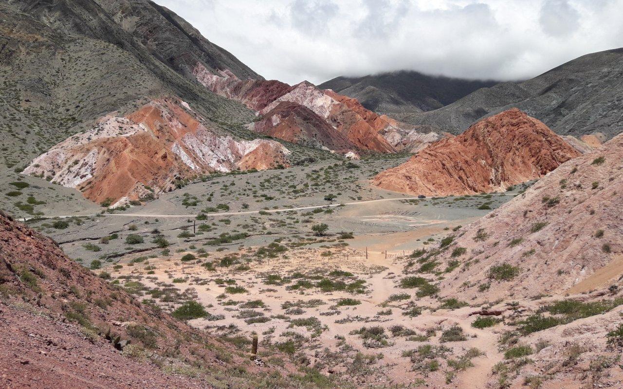 jujuy en vélo - Quebrada de humahuaca, salta voyage argentine