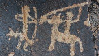 Pétroglyphes Quebrada de Humahuaca - voyage salta jujuy histoire culture