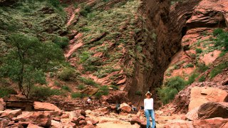 quebrada de las conchas salta voyage nord-ouest argentin