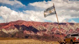 Cerro Hornocal, jujuy voyage argentine