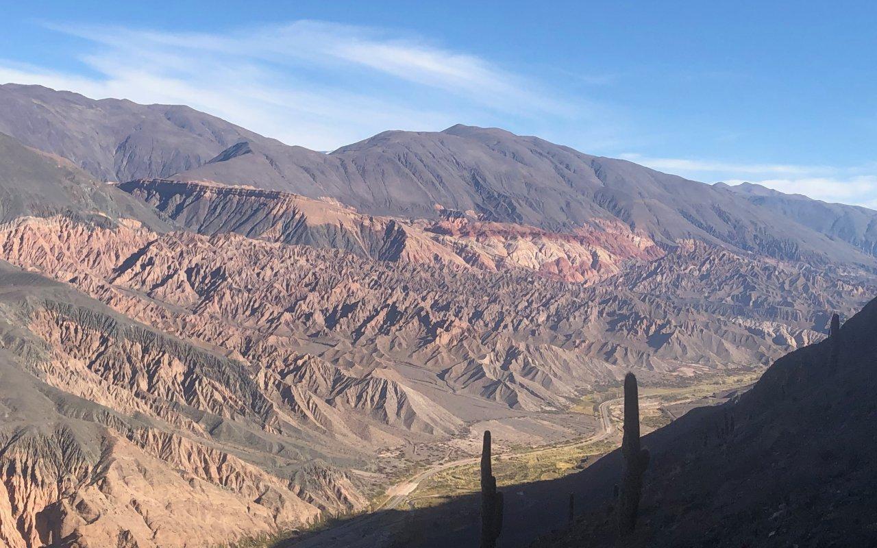 Incahuasi sillon Inca trekking Salta