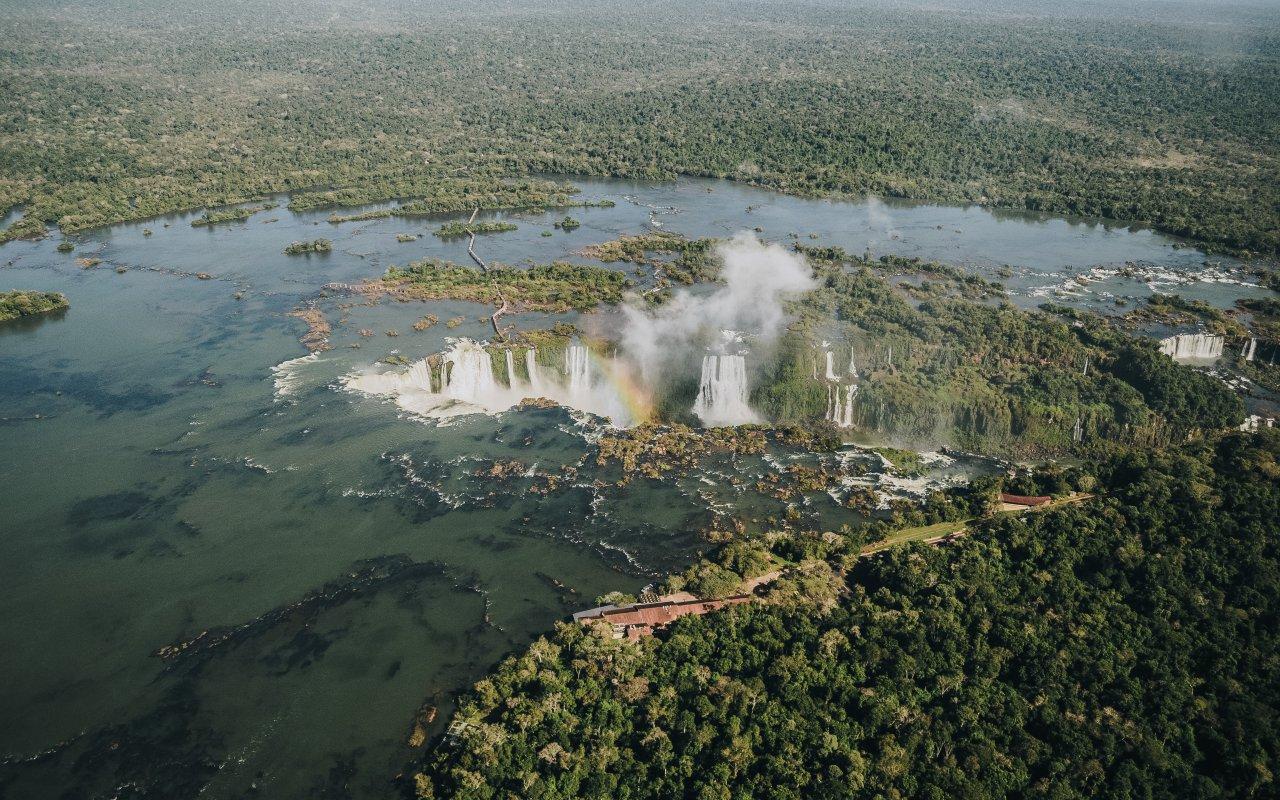 Chutes Iguazu bésiliennes