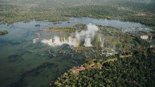 Les chutes d'Iguazu, Brésiliennes