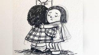 Liniers Quino mafalda dessinateur argentin