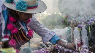 Rituels andins et cérémonies pachamama en argentine