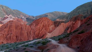 Sentier de los colorados Purmamarca voyage salta jujuy