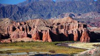 Quebrada conchas salta voyage argentine