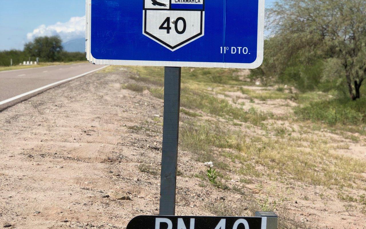 route 40, argentine voyage