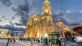 Cathédrale de Salsa visite ville de salta