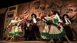 Folklore du Nord-Ouest de l'Argentine : Vieja Estacion à Salta
