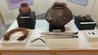 Pièces du musée d'Antofagasta de la Sierra, Catamarca.