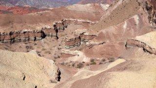La Yesera - randonnée géologie nord argentine salta